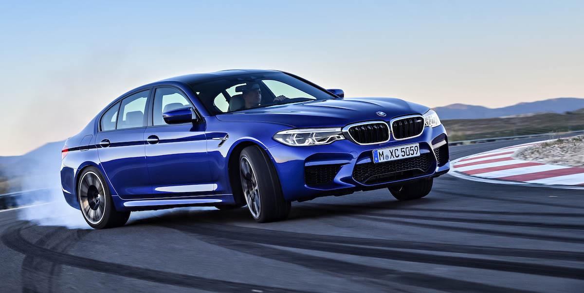 TEST Nuova BMW M5 2018
