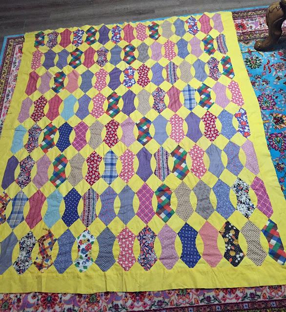 Vintage Quilt Top 110