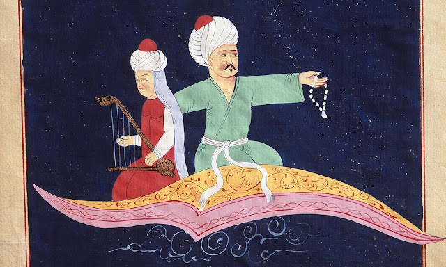 1001 arabian night flying carpet