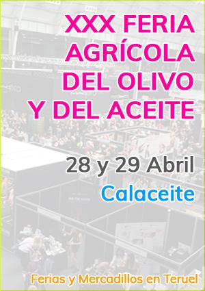 XXX Feria agrícola del olivo y del aceite
