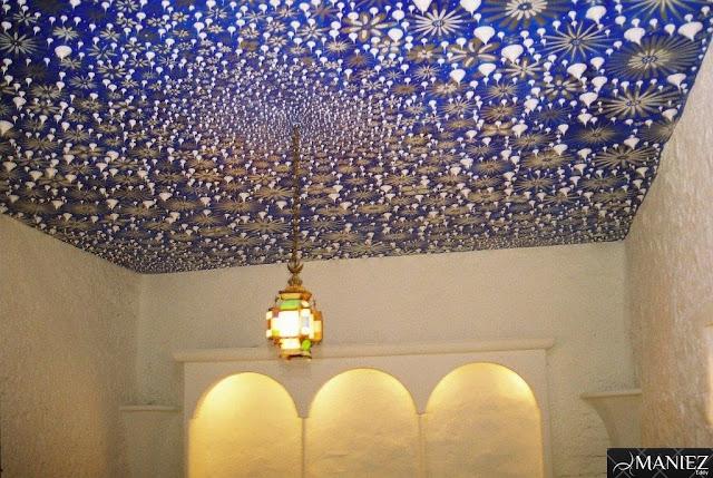 Decoration intérieure d'un plafond par MANIEZ Eddy