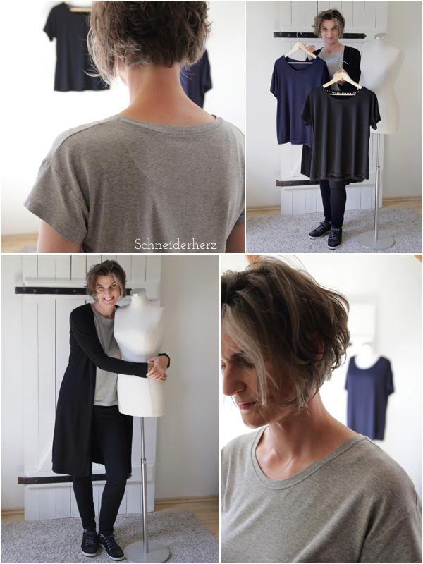 Schnittmuster Frau Tina Basic Shirt