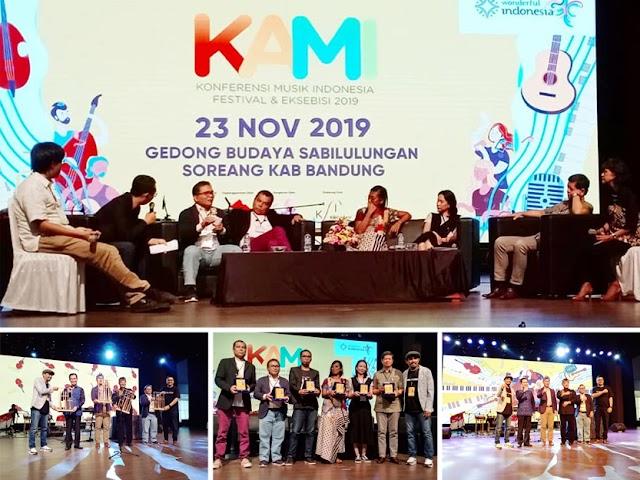 Konferensi Musik Indonesia Festival dan Eksebisi 2019 Digelar di Gedong Budaya Sabilulungan