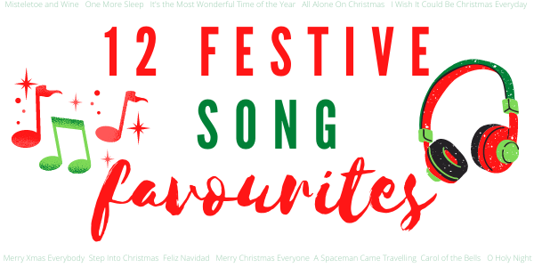 12 Festive Song Favourites