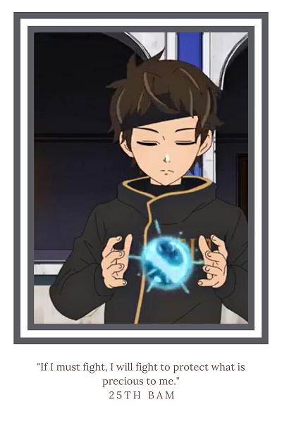 """Tower of God anime """"Bam"""""""