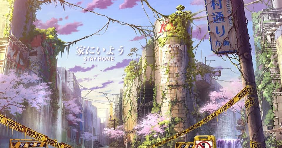 35 Beautiful Japanese Anime Fantasy World Wallpapers Hd