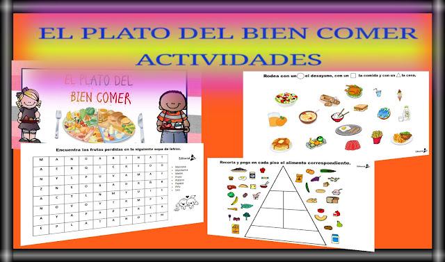 EL PLATO DEL BIEN COMER-ACTIVIDADES