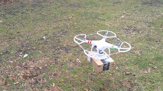 Delivery DJI Phantom 3 Camera Drone