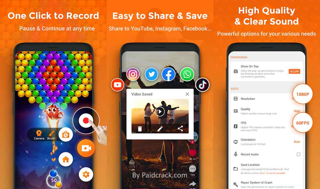XRecorder - Screen Recorder Pro Mod Apk 1.4.1.5