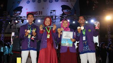 Dari Sampit, Energi Muda Sang Juara Itu Bergelora Membuat Bangga