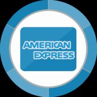 american express button icon