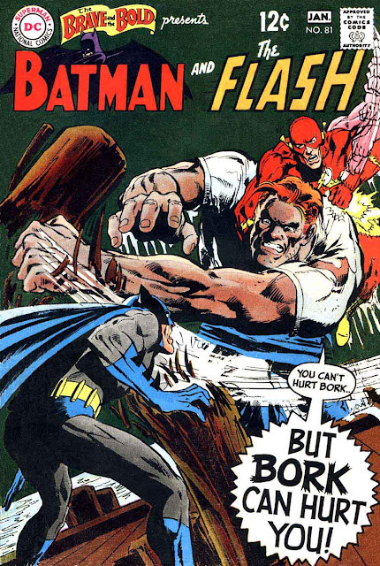 Brave and the Bold v1 #8 1dc comic book cover art by Neal Adams