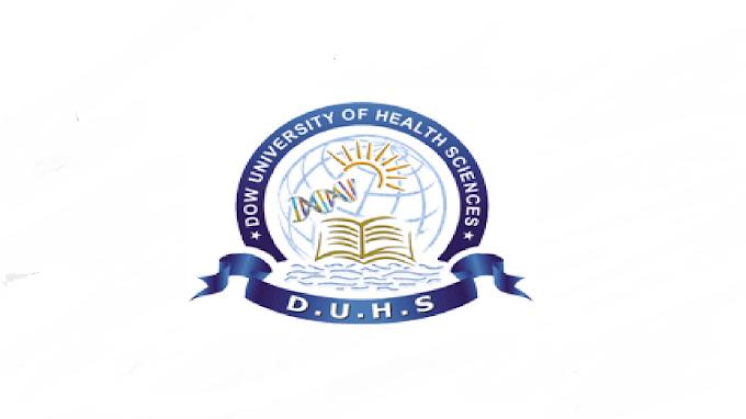 Dow University of Health Sciences (DUHS) Jobs 2021 in Pakistan