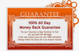 secrets to dog training guarantee