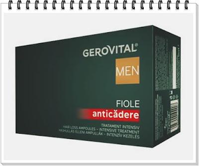 Opinii forumuri Fiolele Anticadere tratament intensiv Gerovital Men