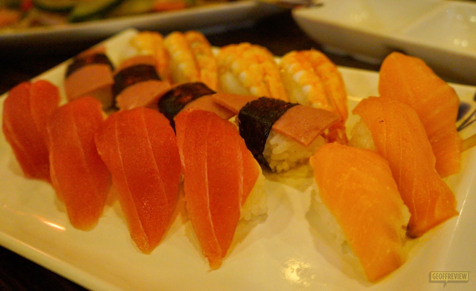 genji m sushi