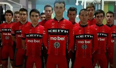 Keith Mobel Partizan Equipo Ciclista