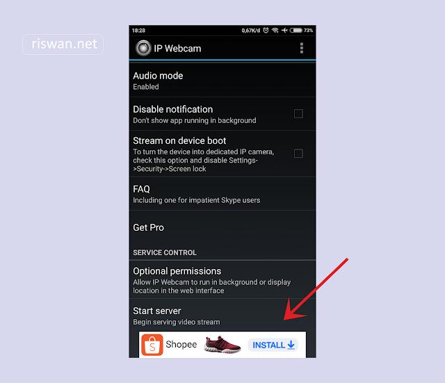 Cara Menggunakan HP Android Sebagai Webcam di Laptop atau PC