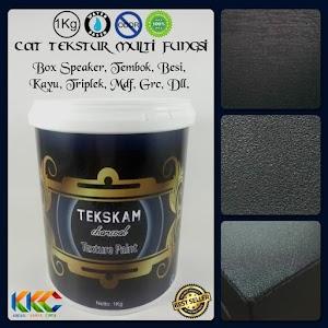 Jual..!!! Cat Tekstur Box Speaker - Tekskam Charcoal M3050