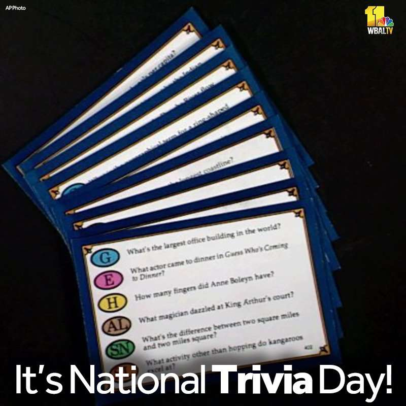 National Trivia Day Wishes Beautiful Image