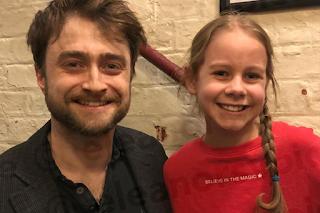 Eleanor Stollery meets Daniel Radcliffe