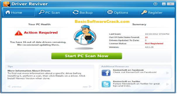 ReviverSoft Driver Reviver v5.39.1.8 Full Version Downloaf