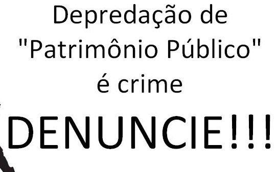 Polícia Civil identifica autor de dano ao patrimônio público em Luís Gomes
