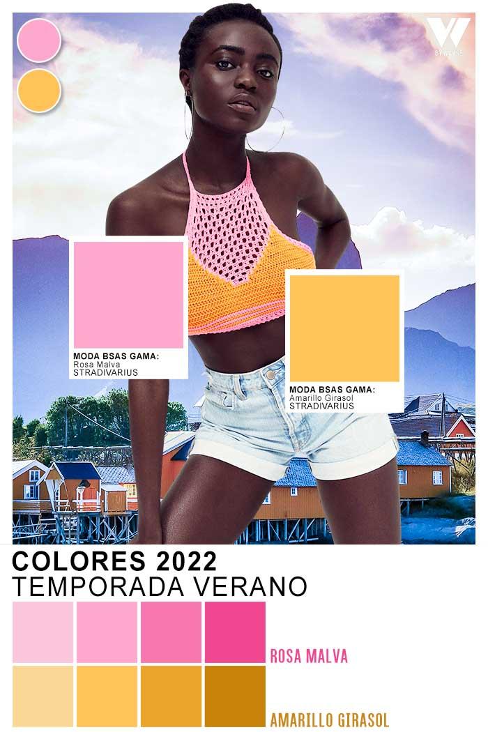 paleta de colores de moda verano 2022