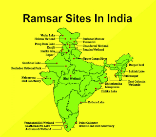 Ramsar site of India- Birds of India-Blog for bird lovers