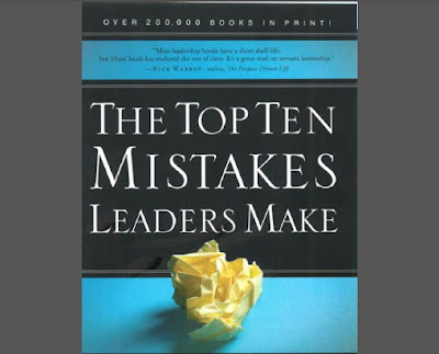 [Finzel, 2007] The Top Ten Mistakes Leaders Make English Book in PDF