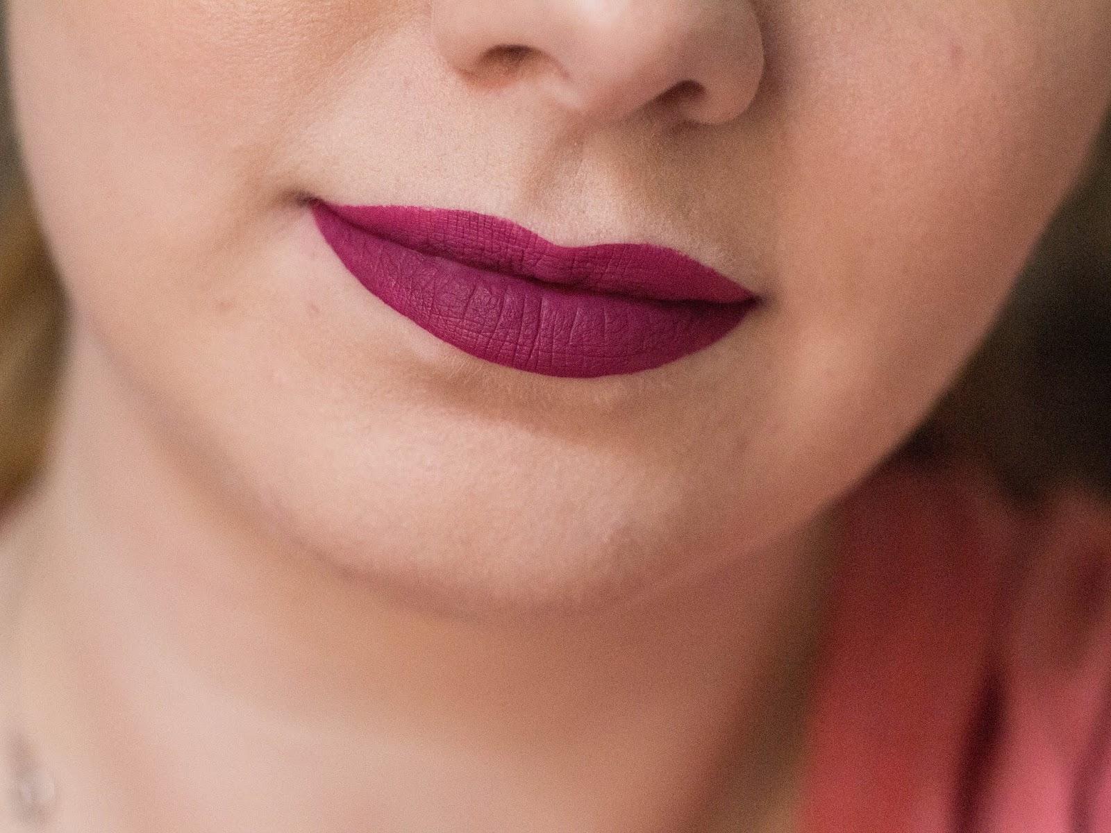 sephora lip stain 16 na ustach
