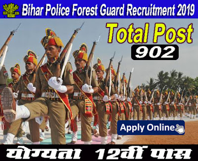 CSBC Bihar Police Forest Guard Recruitment 2019 | CSBC Forest Guard Recruitment 2019