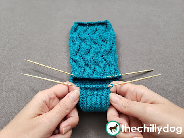 Knitting Tutorial: Learn how to make a square turn heel for hand knit socks