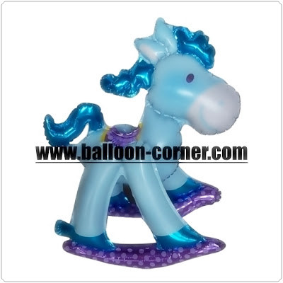 Balon Foil Rakit LITTLE PONY (Assembled Foil Balloons)
