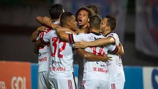 Flamengo volta a jogar ao de  nivel 2019 e vence o Bahia em Pituaçu