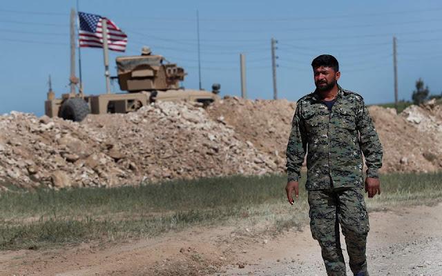 Συρία: Περιπολίες στα περίχωρα της Μανμπίτζ ξεκίνησαν ΗΠΑ και Τουρκία