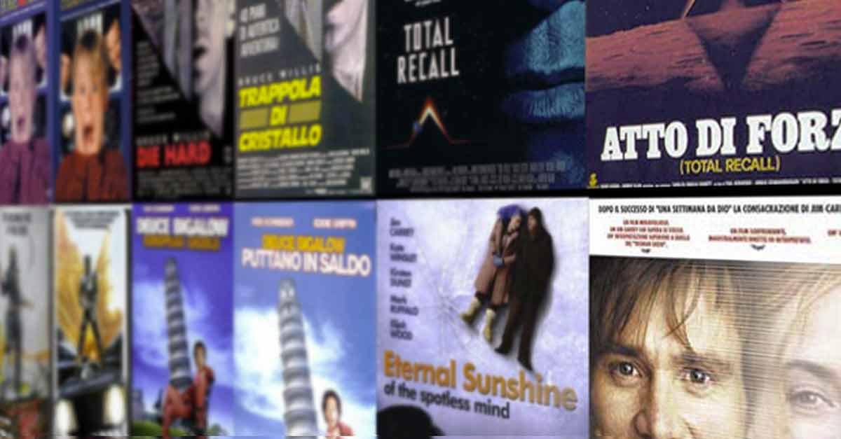 I titoli originali dei film e il loro adattamento italiano