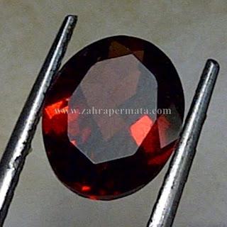 Batu Permata Red Garnet Ceylon - ZP 750