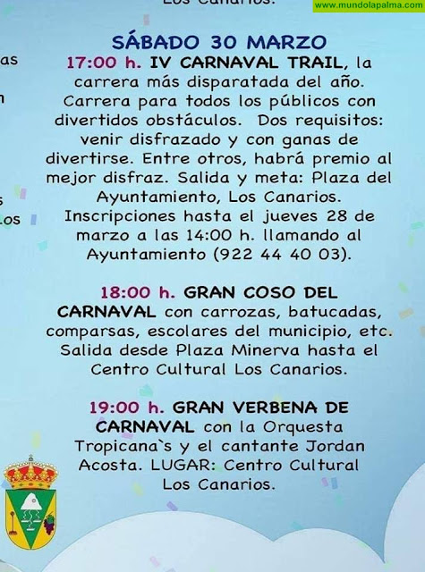Con carrera, coso y verbena concluye mañana el Carnaval de Fuencaliente