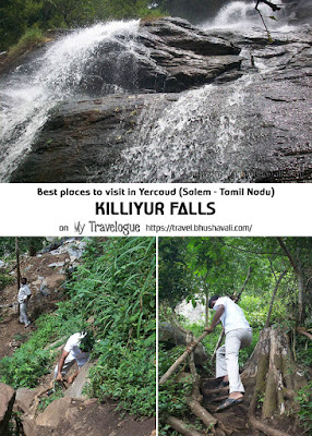 Killiyur Falls - Best places to see Yercaud