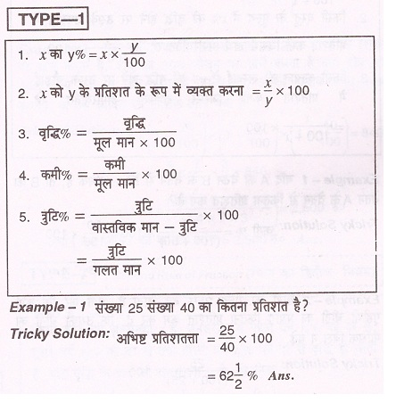 Basic Mathematical Formulas Pdf In Hindi