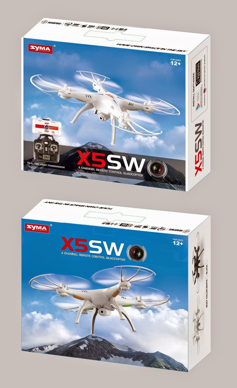 Syma X5Sw Unboxing