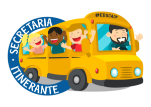Selo SecretariaItinerante 300x214 - Caravana itinerante da educaçáo  chega a Brazlândia nesta sexta
