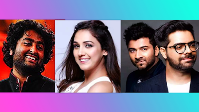 Titli trippin Singers Arijit Singh, Neeti Mohan, Music Director Sachin and Jigar
