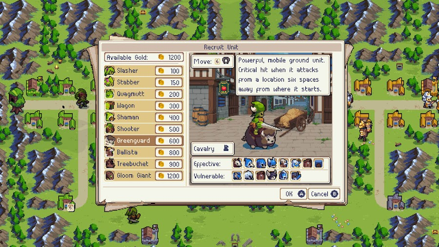 wargroove ps4 turn based tactics chucklefish recruit units