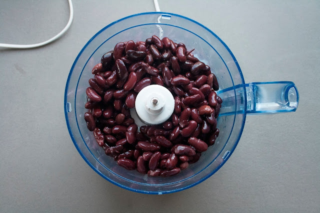 Polpette vegetariane di fagioli rossi step 1