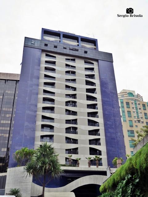 Vista ampla do Edifício Address Faria Lima - Itaim Bibi - São Paulo