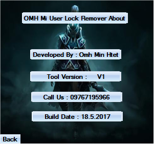 http://www.gsmfirmware.tk/2017/05/OMH-Mi-Userlock-Remover.html