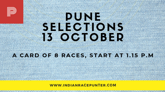 Pune Race Selections 13 October
