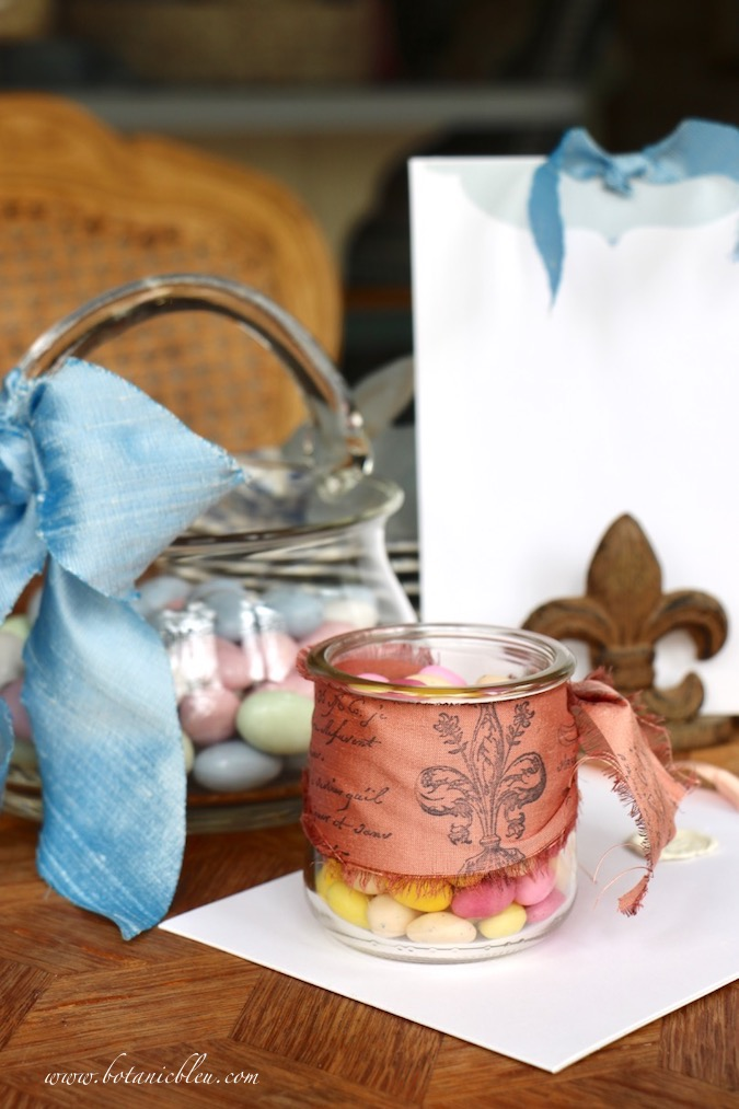 French Made Easter Candy Almond and Fruit Jelly Eggs